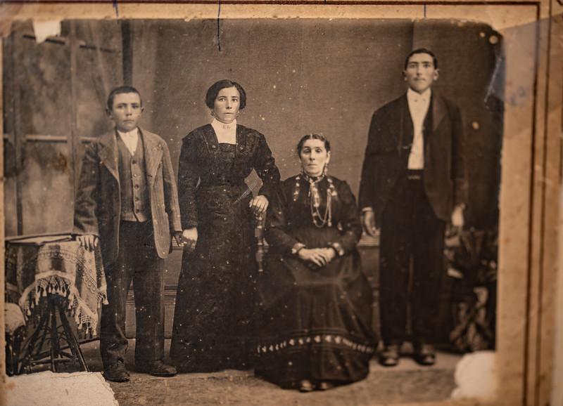 Uncle Alex D'Amico, Mama Rachele Tocco, Grandma Marianne D'Amico, Uncle Palmera D'Amico
