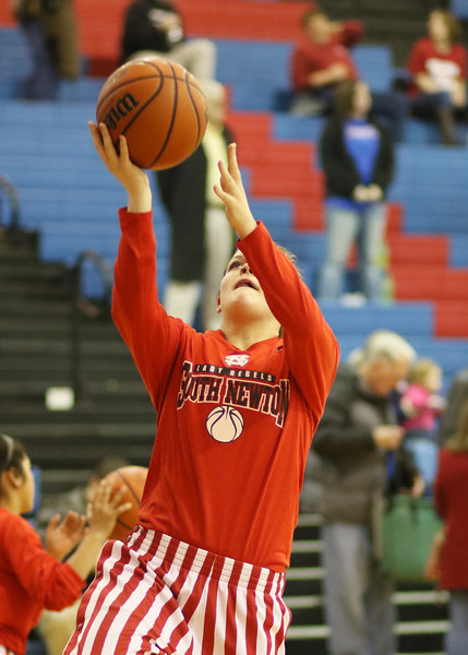 SNHS Girls Basketball vs West Central - Sectional  2015