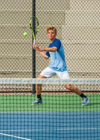 2018-04-05 Dixie HS Tennis vs Pineview