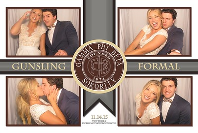 Gamma Phi Beta Gunsling Formal