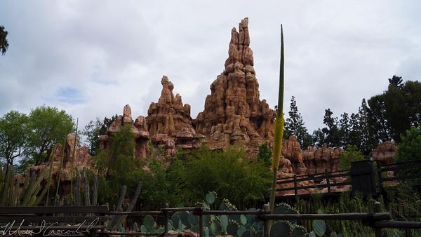 Disneyland Resort, Disneyland, Frontierland, Big, Thunder, Mountain, Railroad