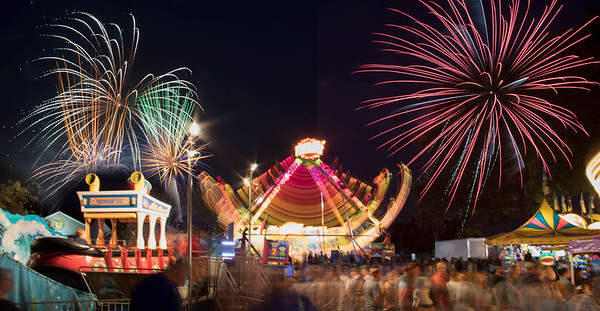 Carnival Lights Time exposures