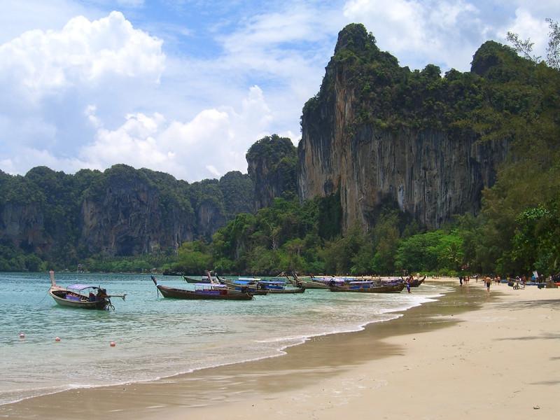 Beautiful Beach - Rai Leh, Thailand