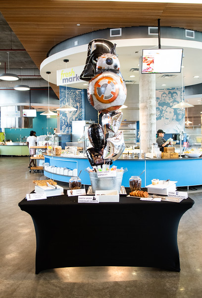Dining Hall host's May the 4th Star Wars Day