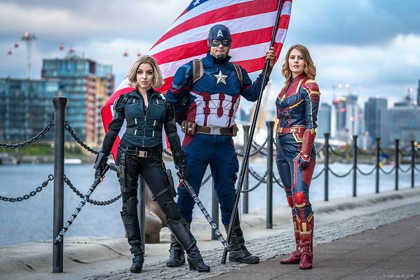Marvel Trio - MCM London Comic Con - 27th October 2018
