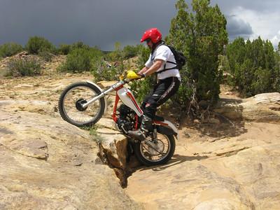 San Ysidro Trials Area Trials Practice  5-31-09