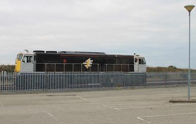 Track & spoil Train Wexford 25-11-13