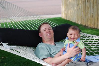AJ with Daddy