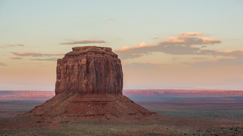 Monument Valley Navajo Tribal Park - View from TheView Hotel