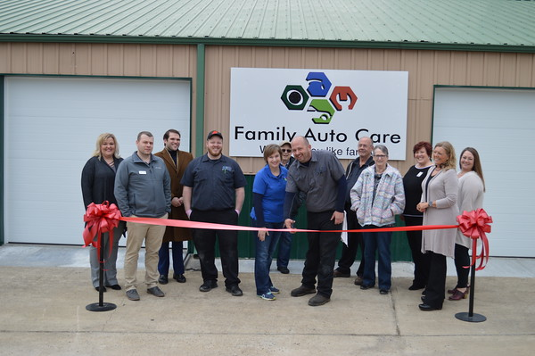 Family Auto Care Ribbon Cutting - February 2020