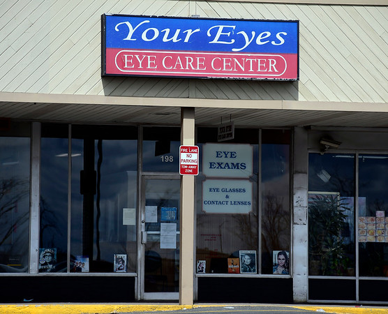 3/31/2020 Mike Orazzi | Staff Your Eyes Eye Care Center in the New Brite Plaza in New Britain.
