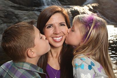 April Wyatt and Children