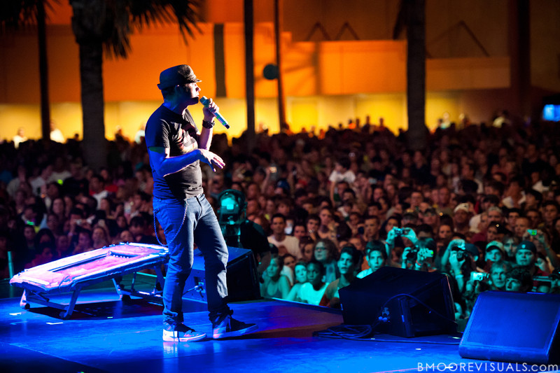 tobyMac performs on September 11, 2010 during Rock The Universe at Universal Studios in Orlando, Florida