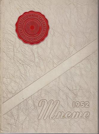 Rutgers Camden Mneme 1952 Yearbook