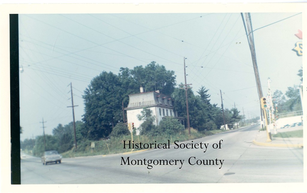 . This undated photo from the Historical Society of Montgomery County shows Schrack\'s Corner, located at Egypt and Trooper roads.