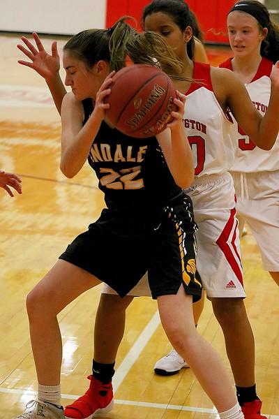 WHS V/JV Girls Basketball vs Andale 121217