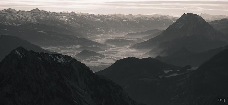 Ennstal, rechts der grimmige Berg