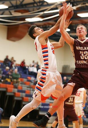 Penn Yan Basketball 1-3-18