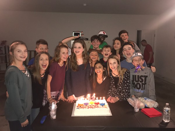 Combined B-day Party