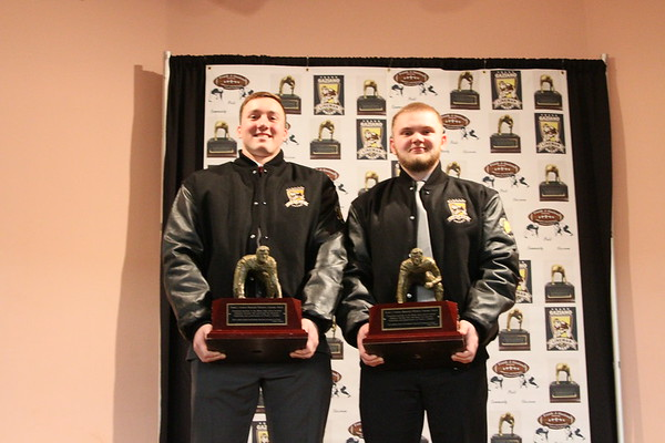 2018 FRANK GAZIANO MEMORIAL LINEMAN (Offensive and Defensive) SCHOLARSHIP AWARDS  HELD 1-26-2019 - UNEDITED PICTURES