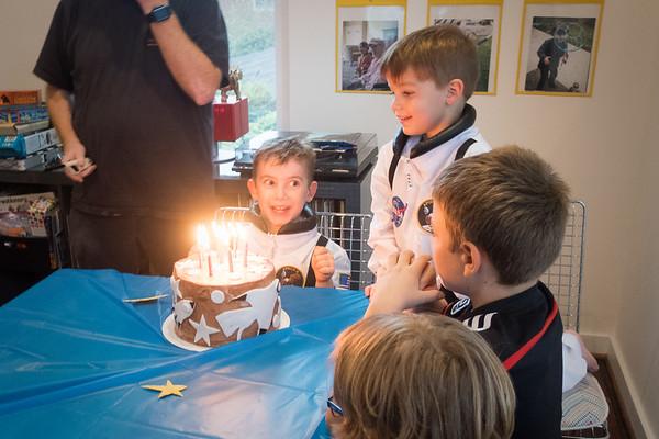 Oskar 7th Birthday