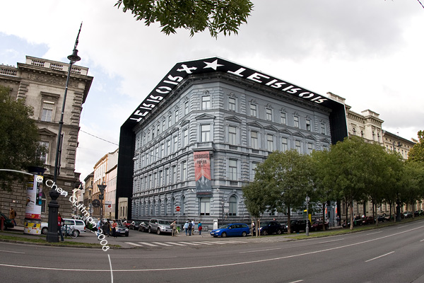 The house of Terror, which was used by the Nazis and later on by the communists. Underneath there is a labyrinth of prisons.