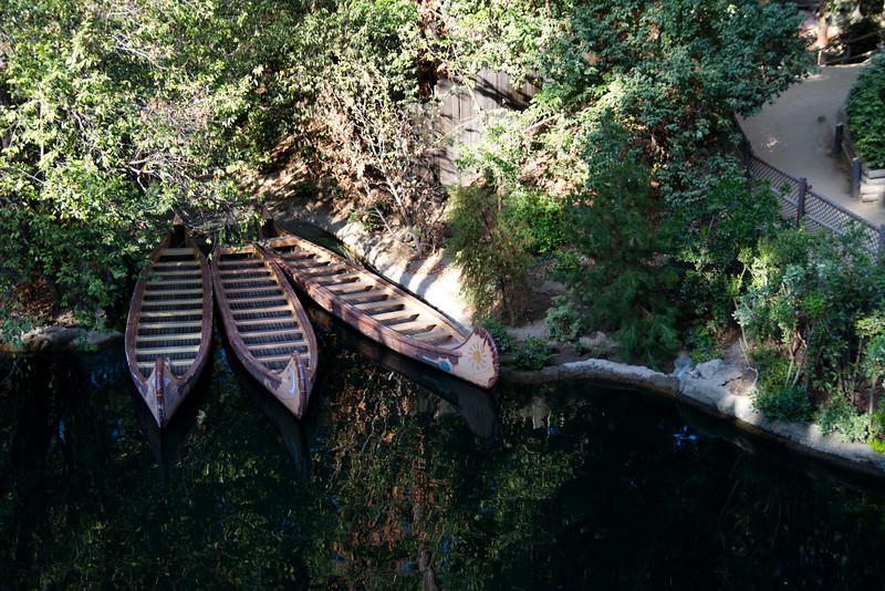 Canoes From The Mark Twain