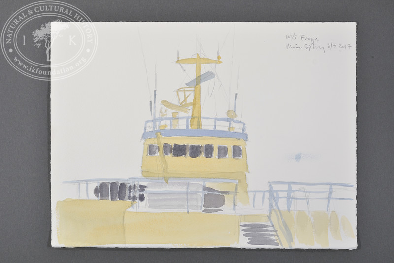 """Expedition ship M/S Freya, Svalbard 
