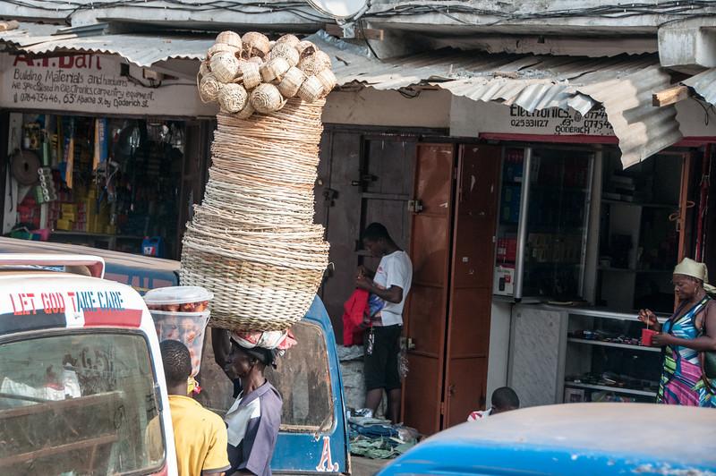 Market in Freetown, Sierra Leone