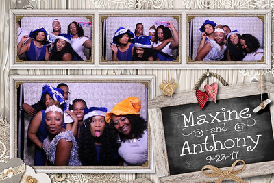 Maxine and Anthony's Wedding 9-23-17
