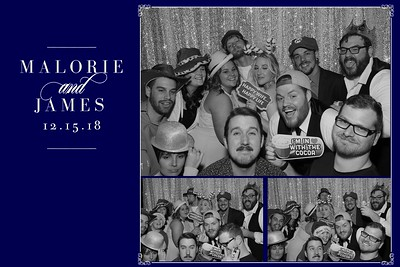 Malorie & James' Wedding
