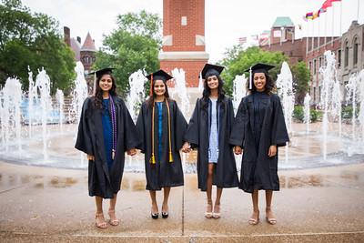 Stephanie, Aisha, Nishita & Saakshi Graduation Shoot 2017