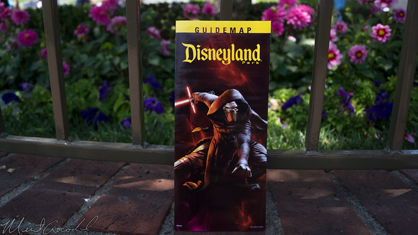 Disneyland Resort, Disneyland, Star, Wars, Kylo, Ren, Guide, Map