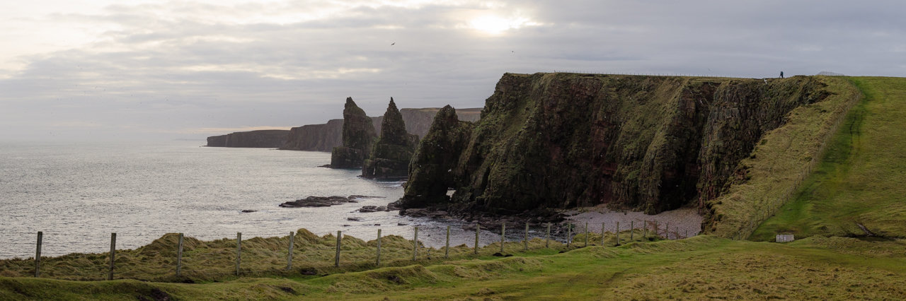 NC500 - Caithness - Duncansby Stacks panorama