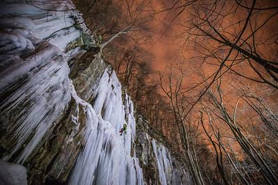 Ice Climbing - Confluence PA