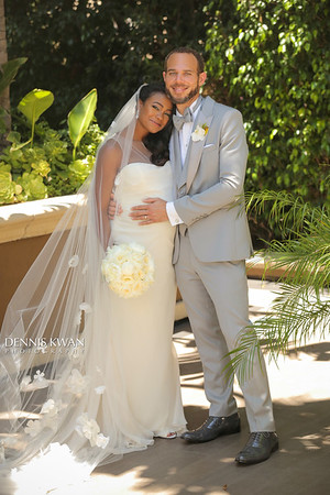 Tatyana Ali + Vaugh Rasberry   Beverly Hills Wedding