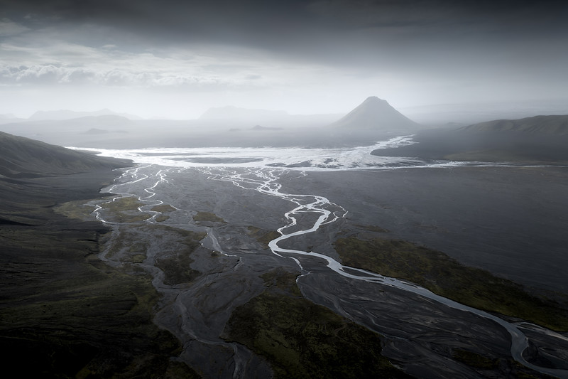 Maelifell aerial hori drone Iceland Highlands landscape photography fine art_1.jpg