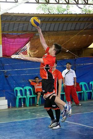 HS Boys Volleyball SFAMSC vs LBCA 2014