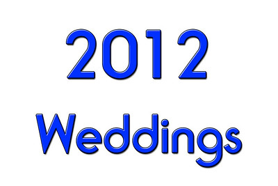 WEDDINGS 2012