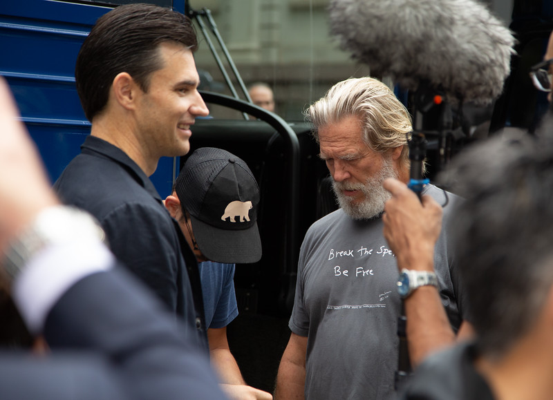"2018, City Hall, Come Together NYC, Jeff Bridges, Larry O""Connor, New York City, September 13"