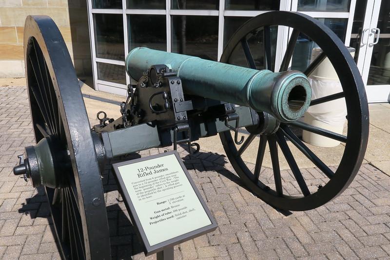 Chickamauga Visitor Center - 12-pounder Rifled James