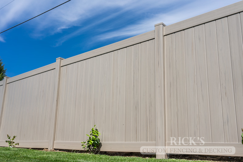 3044 - Driftwood Vinyl Privacy Fencing