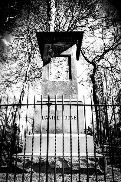 Daniel Boone's Gravesite, Frankfort, KY
