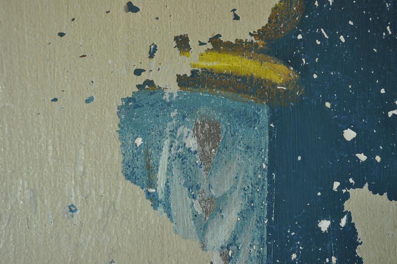 Detail, Säule, Zustand während Freilegung. Sequenz 2 DSC_0153