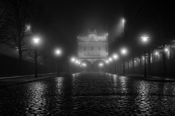 Fog on Ny Carlsberg Street