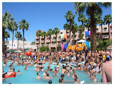 White Party - Palm Springs, CA\Poolside