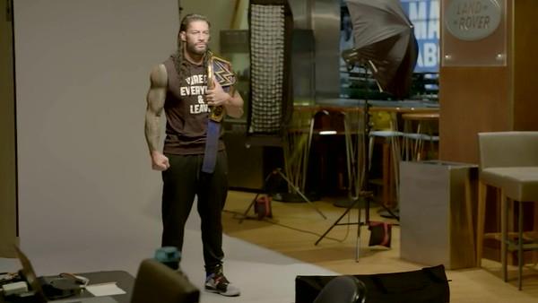 Roman Reigns - WWE Photoshoot Screencaps
