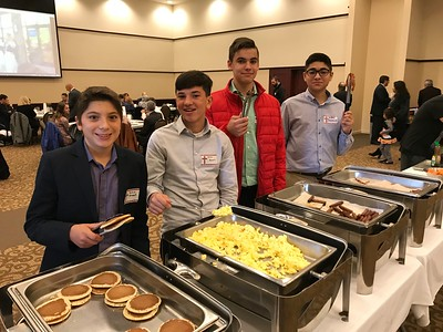 Community Life - Greek Dancers Pancake Breakfast - October 21, 2018