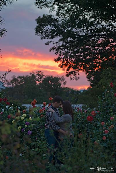 Ashton and Nick, Cylburn Arboretum, Engagement
