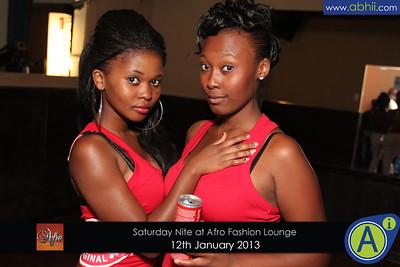 Afro Lounge - 12th Jan 2013